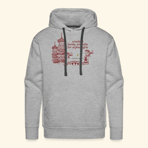 Josiah's Covenant - creating family - Men's Premium Hoodie