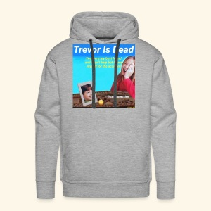Trevor Is Dead Connect 4 Meme Design - Men's Premium Hoodie