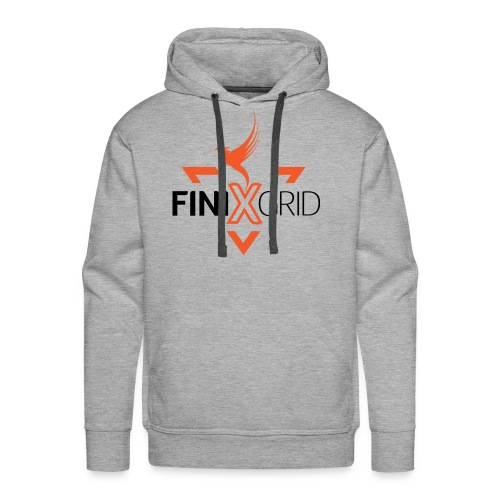 Finix Orange - Men's Premium Hoodie