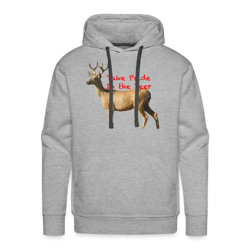 Take Pride in the Deer - Men's Premium Hoodie