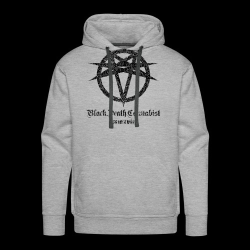Black Death Cannabis - Logo - Men's Premium Hoodie