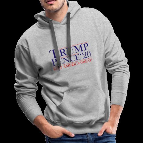 Classic Trump Pence 2020 - Men's Premium Hoodie