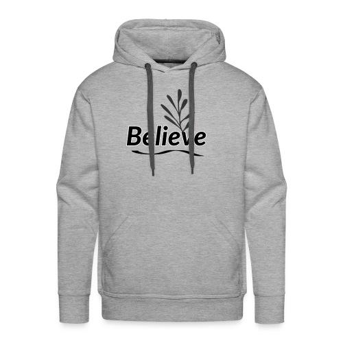 Believe - Men's Premium Hoodie