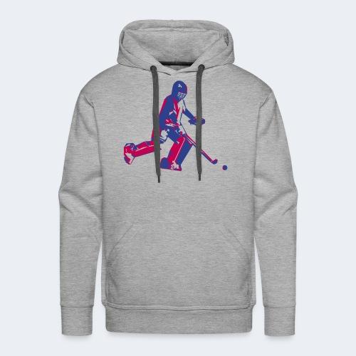 Hockey Goalie - Men's Premium Hoodie
