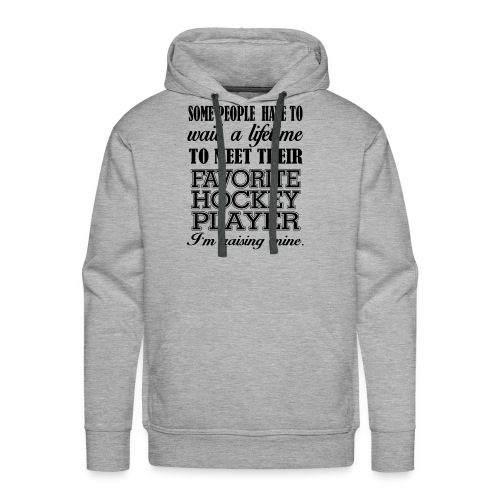 Favorite hockey player - Men's Premium Hoodie