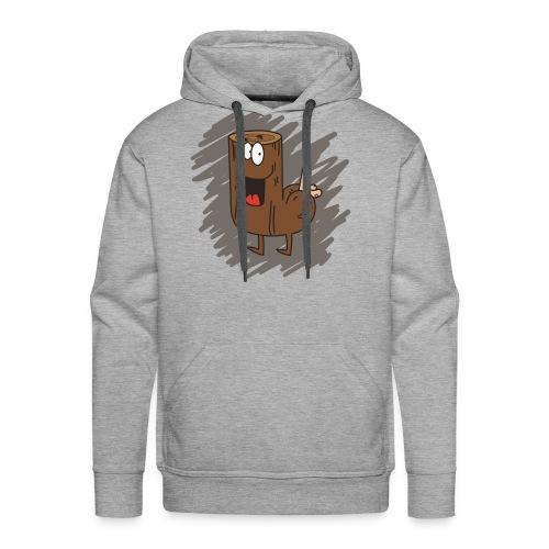 Loganus - Pene with scribble - Men's Premium Hoodie