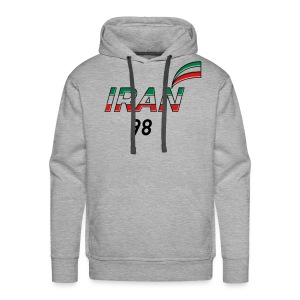 Iran's France 98 20th Anniversary Tee - Men's Premium Hoodie