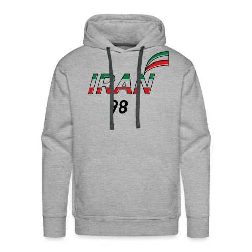 Iran's France 98 20th Anniversary Tee - Men's Premium Hoodie