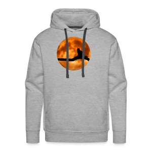 Cool Halloween Cat wear. Great gift! - Men's Premium Hoodie