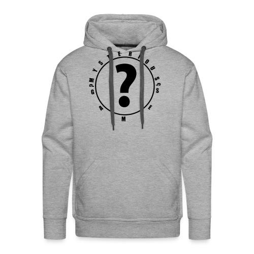 question mark logo - Men's Premium Hoodie