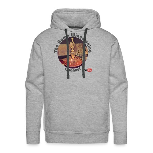Carboy Grey Words - Men's Premium Hoodie