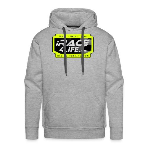 iR4L Logo - Men's Premium Hoodie
