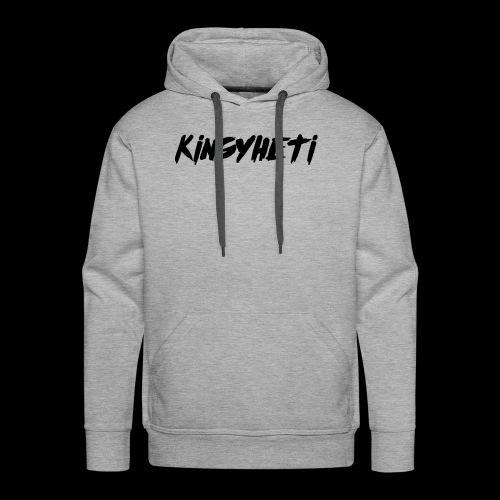 KingYheti Logo - Men's Premium Hoodie
