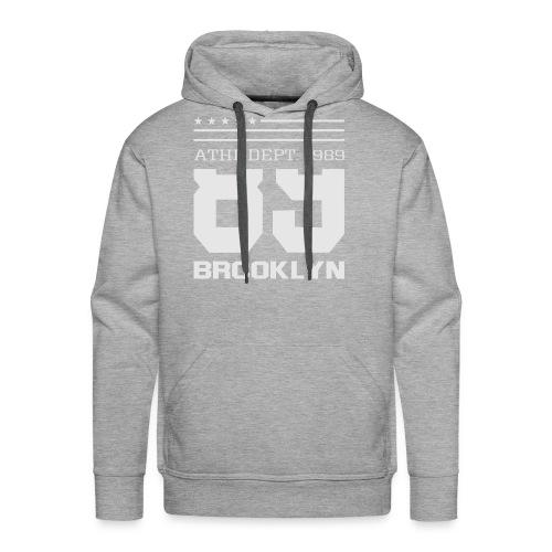 Athletic Sport Brooklyn Typography - Men's Premium Hoodie