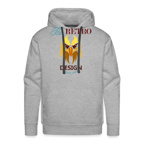 the retro - Men's Premium Hoodie