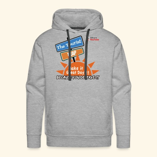 Make it a Great Day - Men's Premium Hoodie