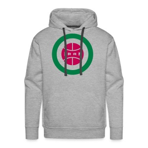 Retro round Iran badge - Men's Premium Hoodie