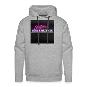 80s we Rookies T shirt design (rough backdrop) - Men's Premium Hoodie