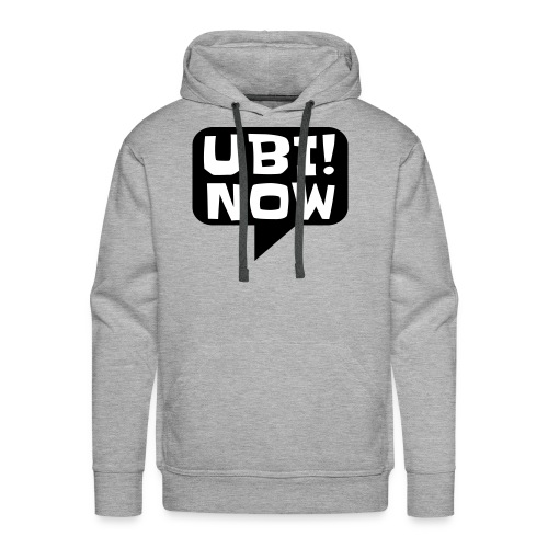 The movement - UBI NOW - Men's Premium Hoodie