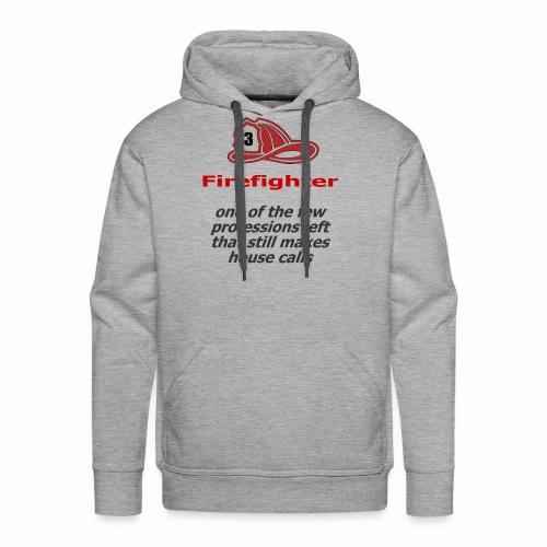 Exclusive design for firefighters - Men's Premium Hoodie