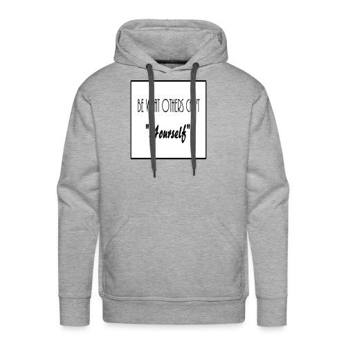 Be Yourself - Men's Premium Hoodie