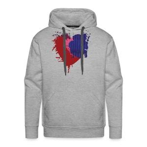 Painted Heart - Men's Premium Hoodie