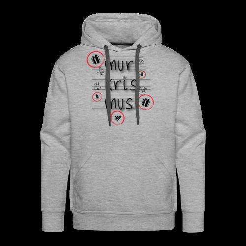 mur-kris-mus - Men's Premium Hoodie