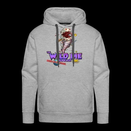 The Wild Die Podcast with N-I logo - Men's Premium Hoodie
