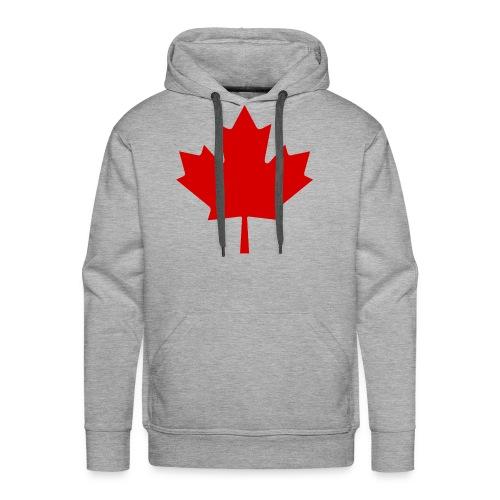 Canada Red Leaf - Men's Premium Hoodie