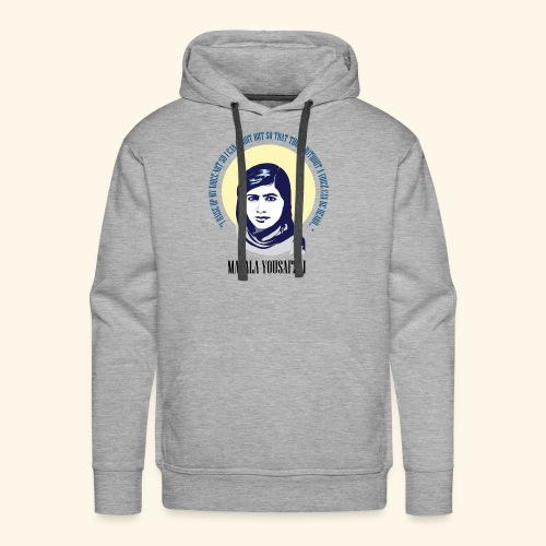 Malala - Those Without a Voice - Men's Premium Hoodie