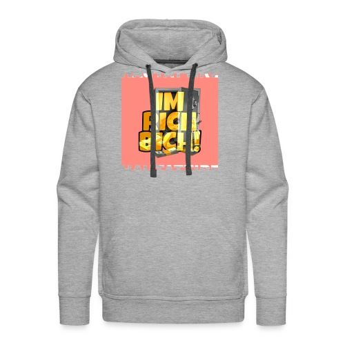 Im Rich Bich merchandise by Haut - Men's Premium Hoodie