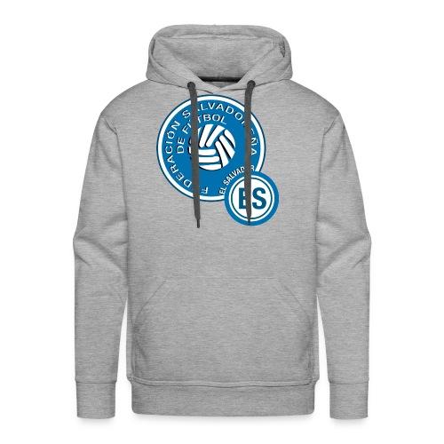 El Salvador National Soccer Team Logo - Men's Premium Hoodie