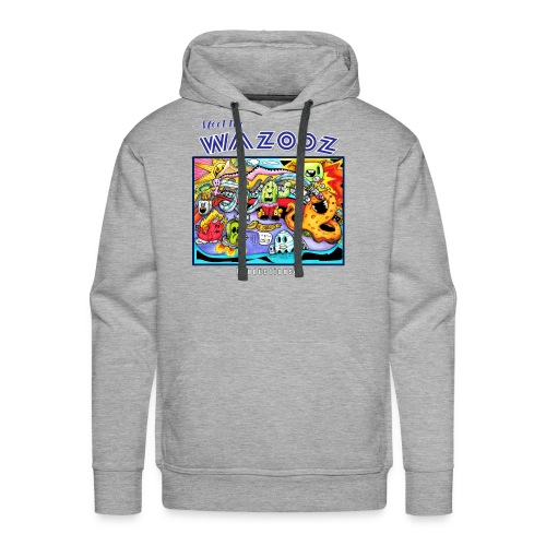 Meet the WAZOOZ - Men's Premium Hoodie