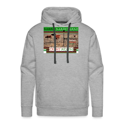 Make Mashinani great. - Men's Premium Hoodie