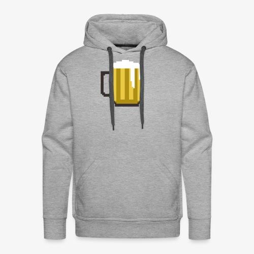 8 Bit Beer Mug Shirt - Men's Premium Hoodie