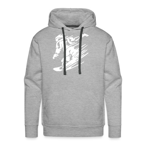 snowboarding - Men's Premium Hoodie