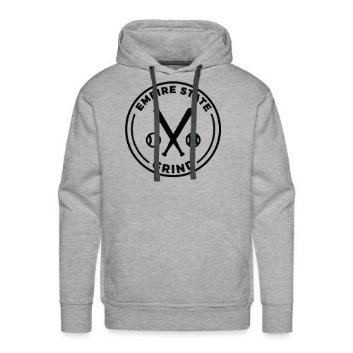 Empire State Grind (Black) - Men's Premium Hoodie
