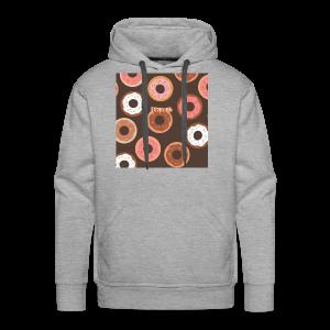 BISMUTH doughnut design multi-color - Men's Premium Hoodie