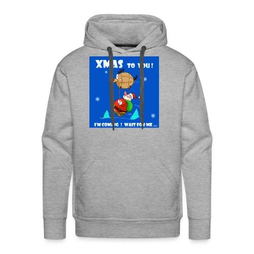 xmas funny tee shirt - Men's Premium Hoodie