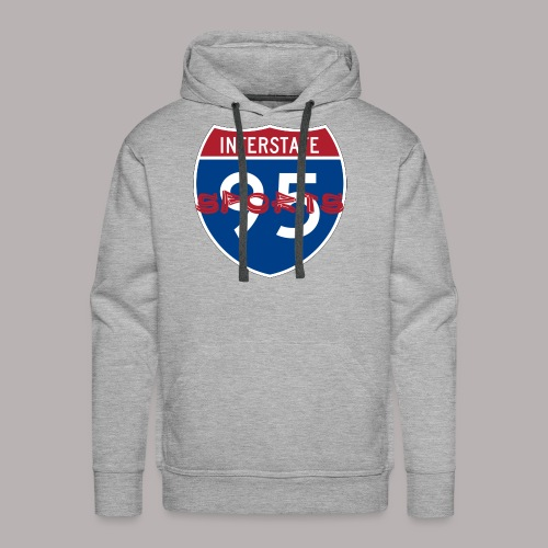 I-95 Sports Podcast Logo - Men's Premium Hoodie
