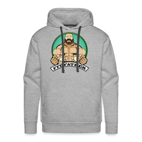Fit Father - Men's Premium Hoodie