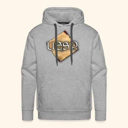 Uesp Social Media Logo - Men's Premium Hoodie