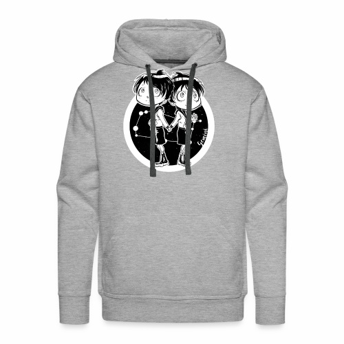 Gemini Original Zodiac Sign - Men's Premium Hoodie
