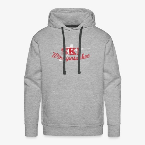 Lake Winnipesaukee Water Skiing T-Shirt - Men's Premium Hoodie