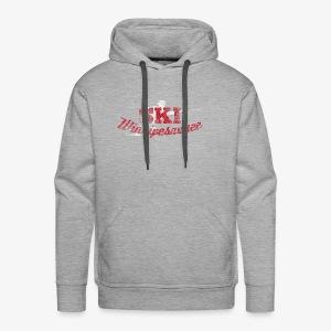 Lake Winnipesaukee Water Skiing T-Shirt - Men's Premium Hoodie