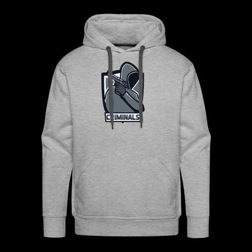 Criminals OG Logo - Men's Premium Hoodie