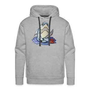 shark attack - Men's Premium Hoodie