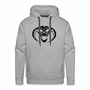 black skull - Men's Premium Hoodie