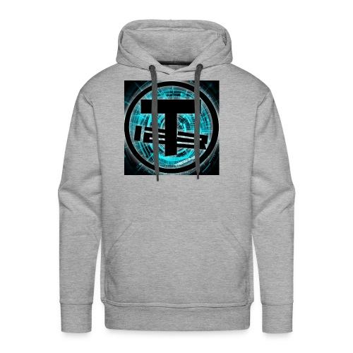 Teegan123 Logo - Men's Premium Hoodie