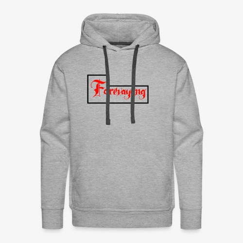 Forevayung on back - Men's Premium Hoodie